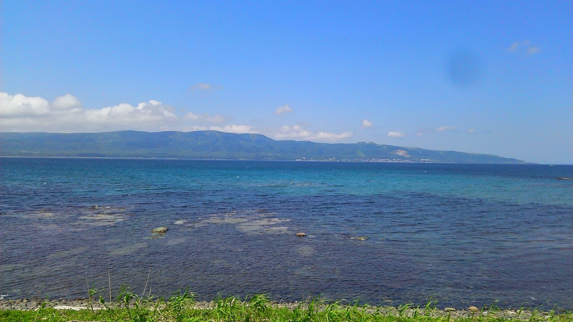 小西正尚が撮影した寿都湾の美しい海