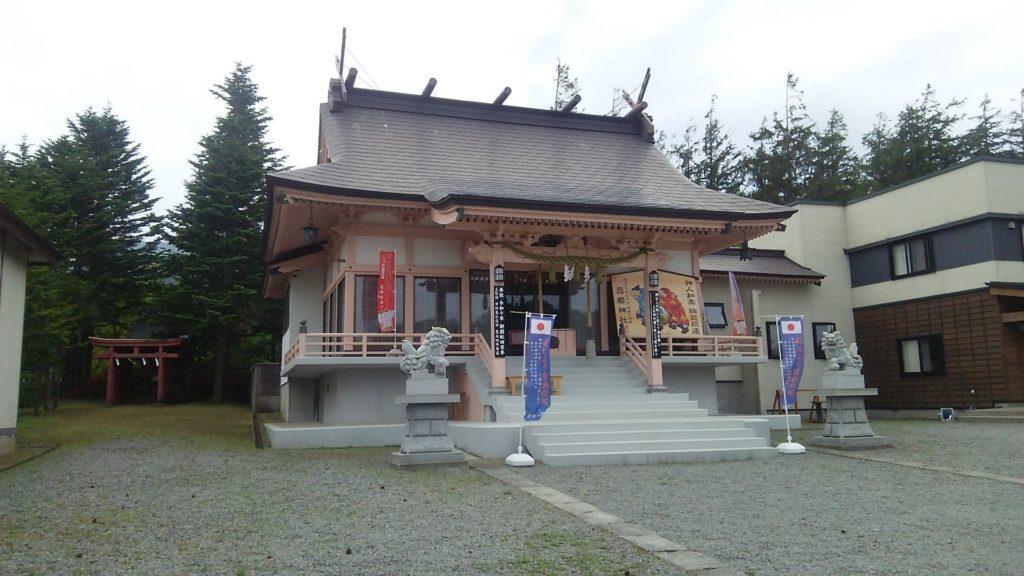 小西正尚が撮影した寿都神社の外観写真